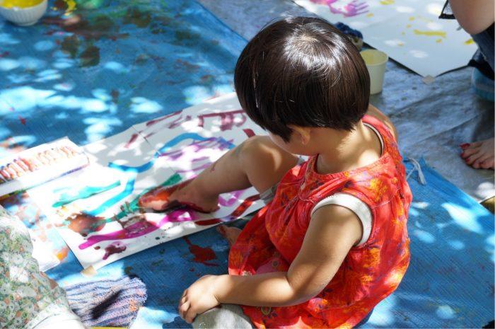 201907親子のための森のアートセラピー
